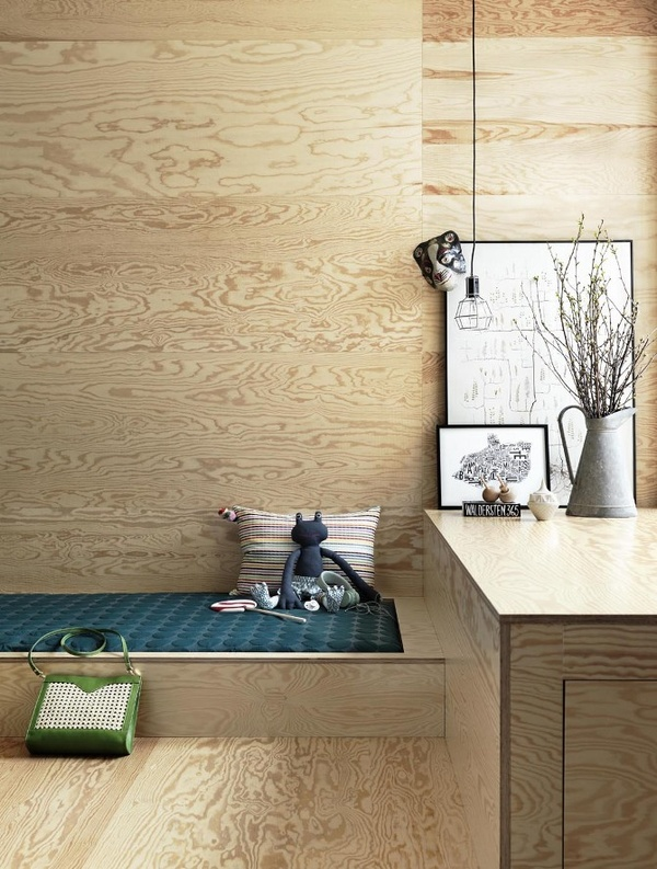 Kids Room made of Plywood